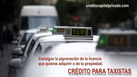 prestamos para taxistas