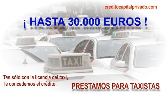 creditos para taxistas